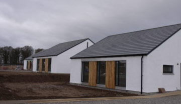 Auldearn sustainable Highland housing
