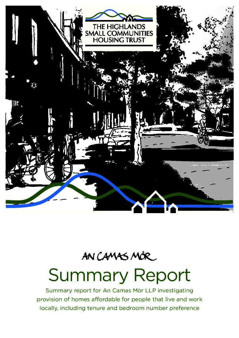 Summary report for An Camas Mòr