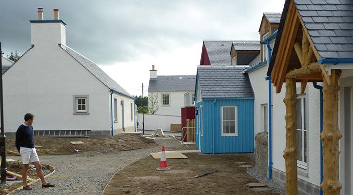 Building Tornagrain - communities like this inspire An Camas Mòr